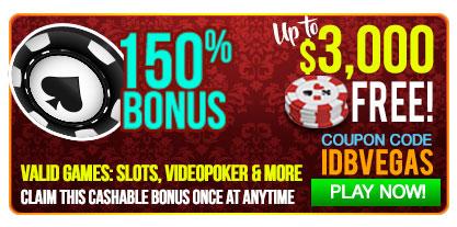 las vegas usa casino 150 bonus