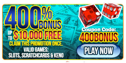las vegas usa casino 400 bonus